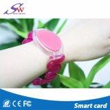 Wristband del silicone di 13.56MHz RFID