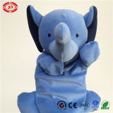 Blue Elephant Animal Shape Toy Show Baby Hand Puppet