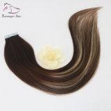 Deux tons de couleur 3/24# mélangés de miel dans les bandes colorées Blonde hair extensions