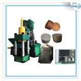Prensa de enladrillar de aluminio de la viruta del desecho de metal del hierro Y83-5000
