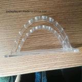 Présentoir Shaped de lune de crayon lecteur de l'acrylique 10