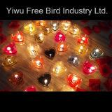 Inner-geformte Zinn-Kerze für Säubern; Parteien und Geburtstage