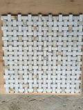 """Хорошее качество дешевой цене Professional с шестигранной головкой/рисунком """"елочкой""""/Basketweave/белый/серый мрамор Мозаичное оформление"""