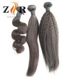 El manojo competitivo de la armadura del pelo de la venta de la fábrica reparte el pelo brasileño de la Virgen