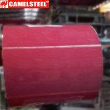 Impression haute qualité couleur PPGL PPGI Bobines en acier