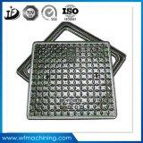 Getto D400/ferro duttile rotondo/coperchio di botola d'acciaio con il blocco per grafici