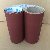 Panno abrasivo Ja135 320# dell'ossido di alluminio di uso della macchina