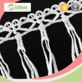 Telas africanas del cordón 5 yardas de la secuencia de la flor de cordón del producto químico