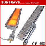 Queimador infravermelho para equipamento de secagem