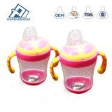 De Plastic het Voeden van het Flessekind van het Water van de Baby Fles van uitstekende kwaliteit van de Melk Chromatische het Drinken Fles