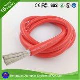 Провод силы силиконовой резины проводника 1/0AWG оптовой продажи 10000*0.08mm медный гибкий