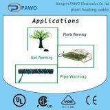 Cabo de aquecimento patenteado fábrica da planta do PVC com termostato da temperatura