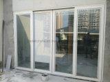 Windowsの絶縁されたガラスドアのためのガラスブラインドの間でモーターを備えられる