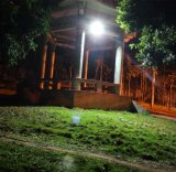 Jardin Farol Solar con batería de litio