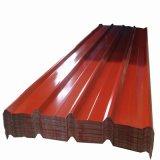 Revestido de color las hojas de impermeabilización de cubiertas de acero corrugado