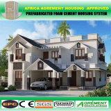 Vorfabrizierter heller Stahlkonstruktion-Rahmen-modulares Wohnanlage-vorfabrizierthaus
