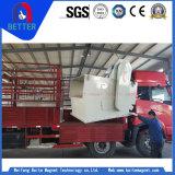 Separatore magnetico permanente del minerale metallifero della conduttura approvata Rcyg-1000 di ISO/Ce per industria vetro/del cemento