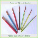 Fio elétrico isolado PVC de cobre do cabo