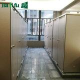 Partition ignifuge imperméable à l'eau intense de toilette du contrat HPL de Jialifu