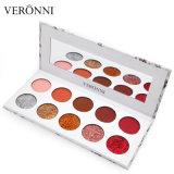 Gama de colores mate del sombreador de ojos del brillo Veronni de los colores originales del profesional 10 del 100%