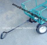 Remorque en acier 660lbs de chariot de chariot de brouette de service de pelouse