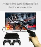 8-битный телевизор игры с двумя контроллера и один пистолет