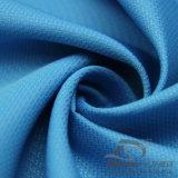 água de 50d 240t & do Sportswear tela 100% tecida do poliéster do jacquard para baixo revestimento ao ar livre Vento-Resistente (E076)