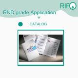 2 Seiten überzogenes Zerreißen-Beweis HP-Indigo-Drucken-Chemiefasergewebe-Papier