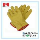 Latex Met een laag bedekte Katoenen Handschoenen/het Werk Anti-Abrasion de glovesanti-Misstap van het Latex Constructon