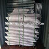 *6' 10' de maillon de chaîne de panneaux portable utilisé comme clôtures temporaires
