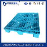 Palette en plastique de la qualité 1200X1000 6t Rackable pour la mémoire