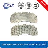 Usine de pièces automobiles chinois de plaquettes de frein du chariot pour la plaque Mercedes-Benz