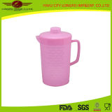 Rosa de alta calidad de la jarra de agua de plástico