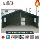Entlastungs-Zelt für Militärschlafsaal, Küche und Wohnzimmer
