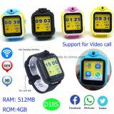 4GB traqueur de montre du réseau GPS de la mémoire 3G WCDMA (D18s)