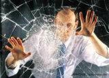Película protetora transparente de vidro de indicador da segurança para o vidro do edifício