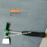 La maniglia del tubo dell'acciaio da utensili della mano del hardware della costruzione H-75 Multi-Usa l'ascia