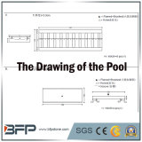 Granit économique G383 pour l'évacuation environnante de piscine