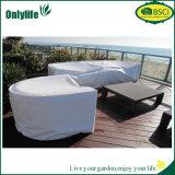 Onlylife personalizou tampa ajustada do pátio ao ar livre impermeável da tampa de tabela