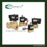 serie 2W (UW) 2/2 grande Oriffice di elettrovalvola a solenoide d'ottone di 2W200-20