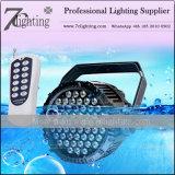 結婚式のイベントのための無線制御LED同価64 54X3w RGB 3in1の段階の照明