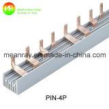 Tipo de pino de alta qualidade 4p Barra de barras de cobre elétrico 125A