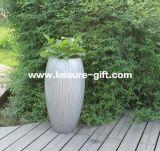 Fo-231 Engraved Fiberglass Flower Pot per Decorate