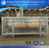 縦195L液体窒素のDewarの低温学タンク