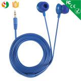 試供品の工場価格の携帯電話のためのワイヤーで縛られた耳のイヤホーン