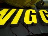 Дверь загоранное Froont здания Напольн Ходить по магазинам Компании рекламирующ акриловый канал логоса 3D СИД подписывает письма алфавита СИД