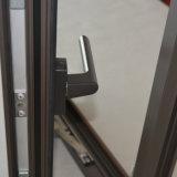 다중 자물쇠 K03021를 가진 알루미늄 목제 여닫이 창 Windows