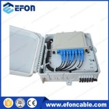 ODF Waterproof 8 Core PLC Splitter Boîte de distribution en fibre optique pour Pole