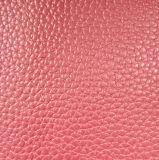 Couro sintético de microfibra para bolsas de calçados PU (HST002)