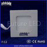 Iluminación del panel futura del cuadrado LED de la iluminación 3W-24W